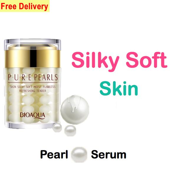 bioaqua pure pearl serum silky soft