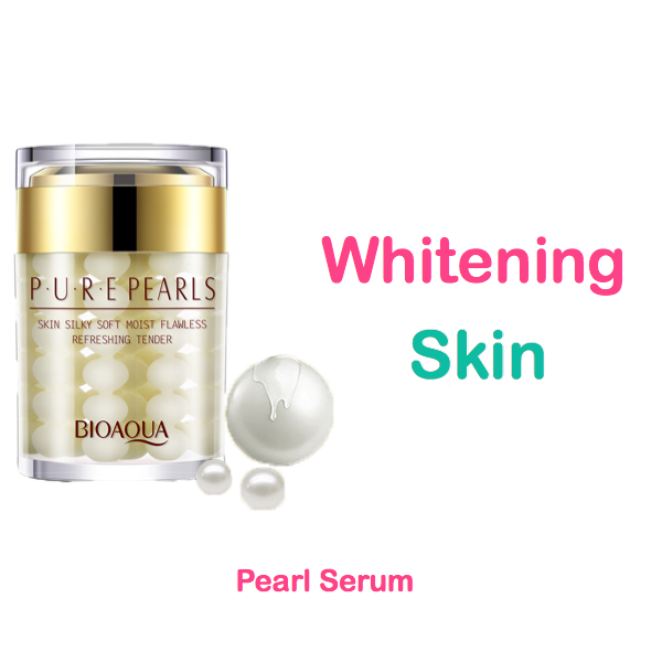 pure pearl serum for whitening