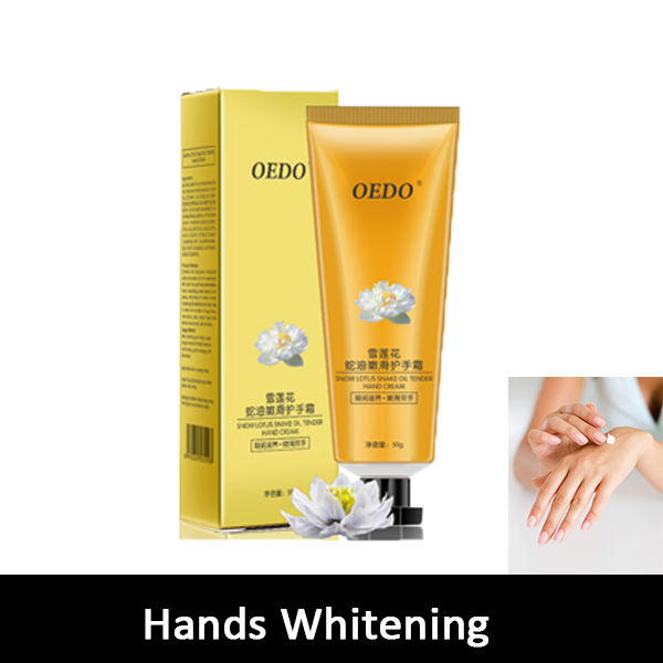 Hands whitening cream