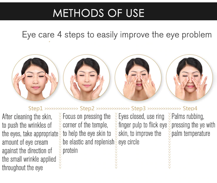 rorec dark circle eye cream how to use