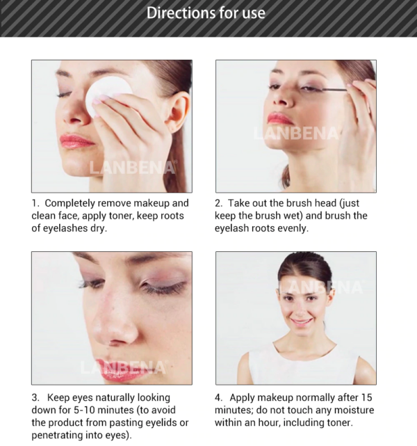 eyelash growth serum how to use