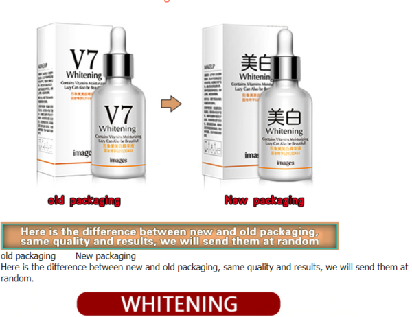V7 skin whitening serum for dark spots on face