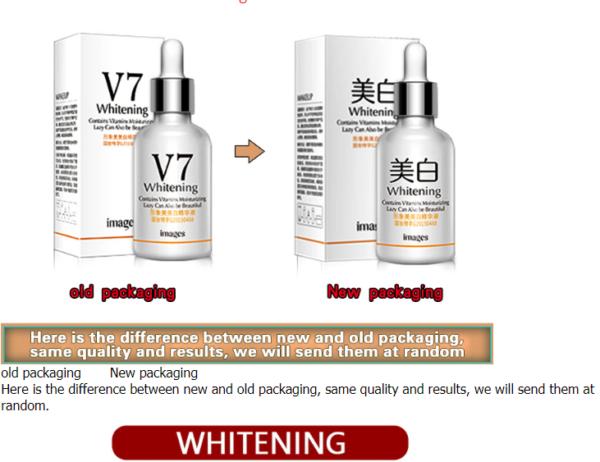 V7 skin whitening serum for dark spots on face