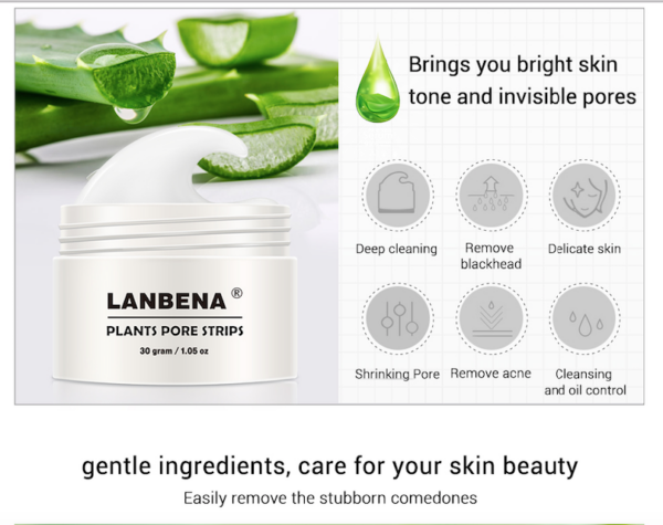 lanbena blackhead removal strips mask