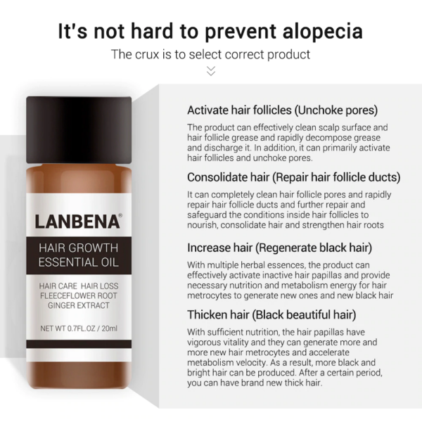lanbena hair loss essence benefits