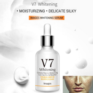 v7 whitening serum for dark circles