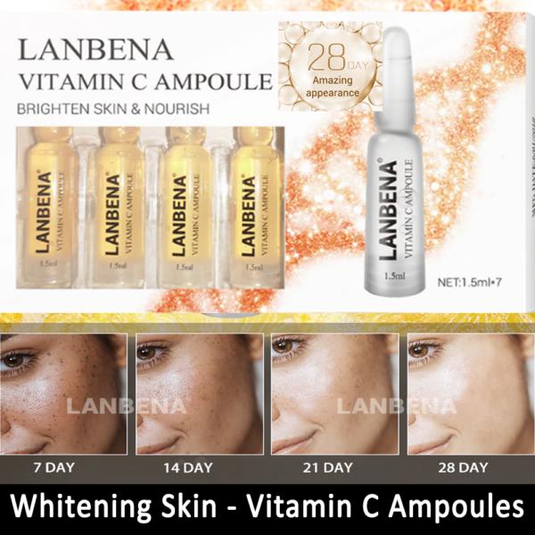 vitamin C whitening Ampoules