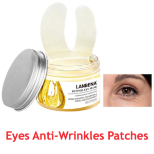 eyes anti wrinkle eye patches