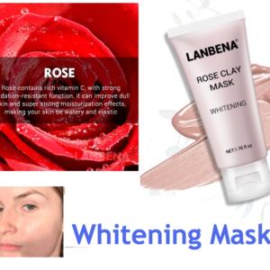 rose clay whitening mask