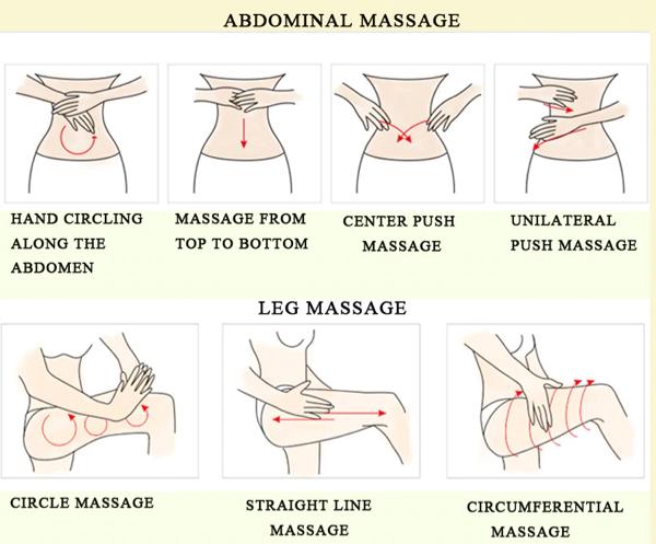 how to apply oedo stretch marks cream