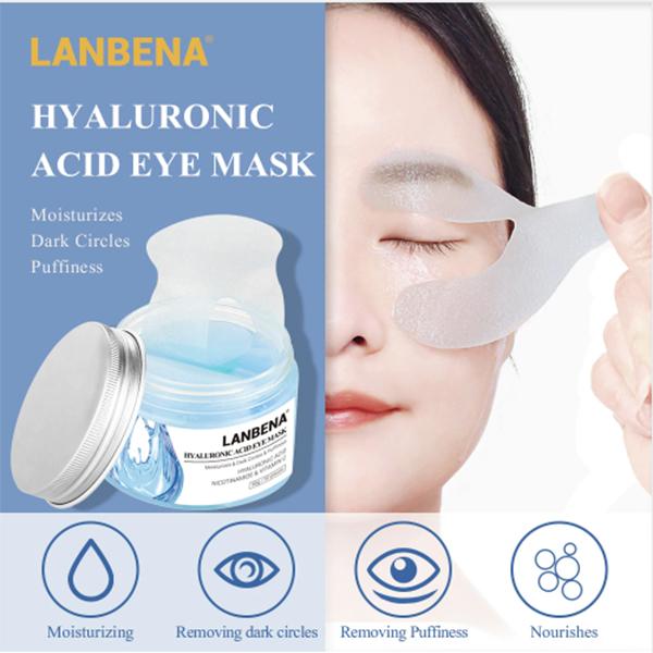 hyluronic acid dark circle patches