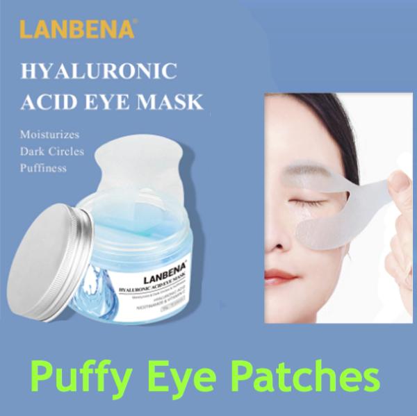 Lanbena puffy eye patches serum