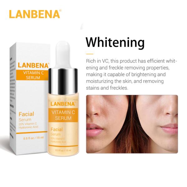 lanbena vitamin c serum for whitening