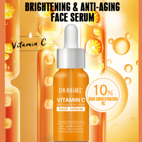 dr.rashel vitamin c serum features