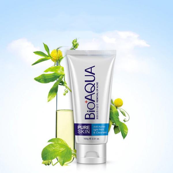 bioaqua acne face wash foam