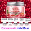 bioaqua pomegranate night mask