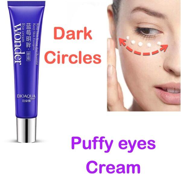 bioaqua puffy eyes cream and dark circles