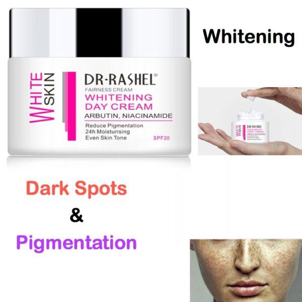 dr rashel dark spots whitening cream