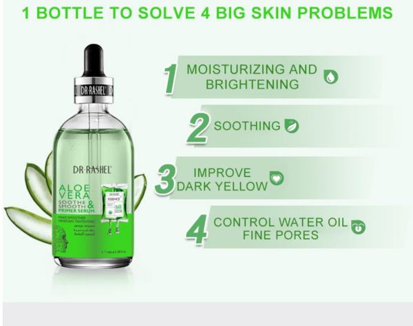 uses of dr rashel aloe vera serum