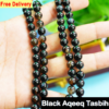 black aqeeq tasbih