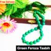 Green feroza tasbih 33 beads