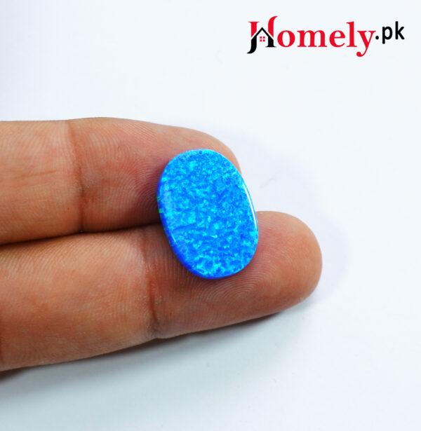 beautiful blue opal