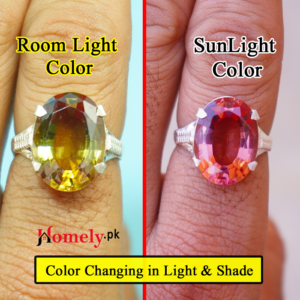 color changing stone ring for men
