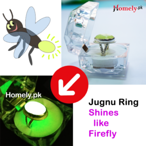 firefly ring shines like firefly