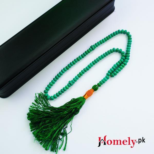 Hussaini feroza tasbih image for prodct 100 beads