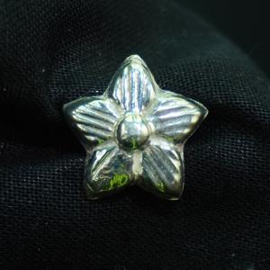 silver little star Khalis chandi buttons