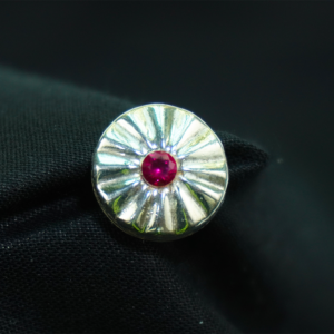 Round Zircon Button