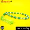 10-mm-Green-Feroza-Chandi-33-Beads-Tasbeeh-image-4