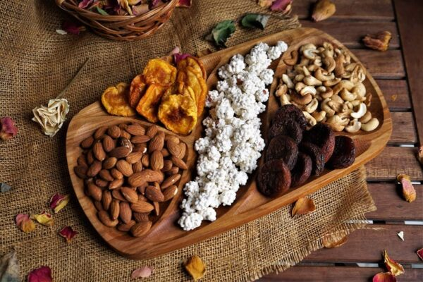 Nuts Wooden food Tray image 1