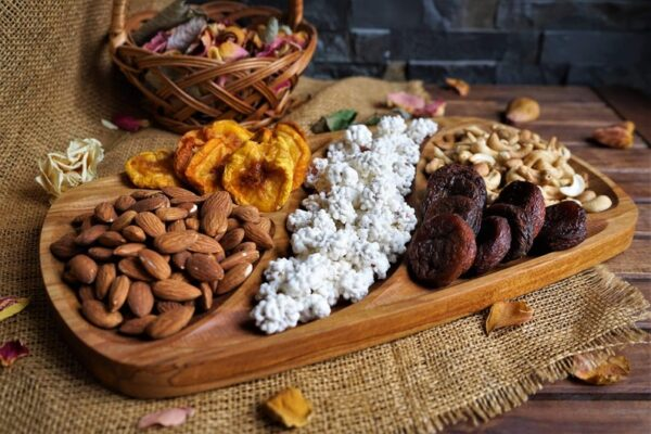 Nuts Wooden food Tray image 5