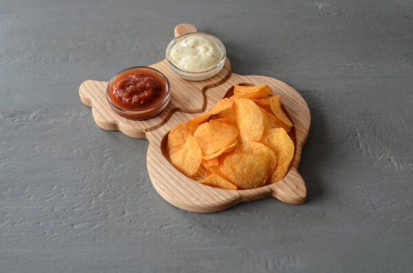 Owl Chips tray for child image 3