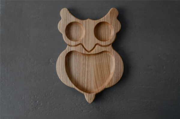 Owl Chips tray for child image 4
