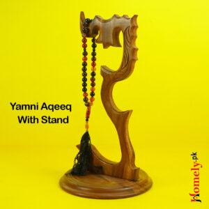 Yamni Aqeeq With Stand