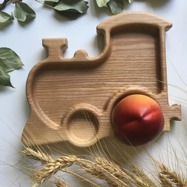 Train Wooden Food Tray image 6