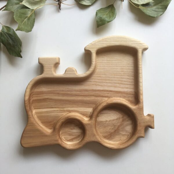 Train Wooden Food Tray image 2