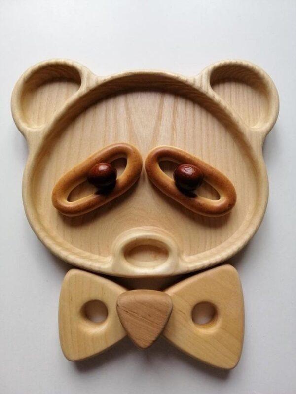 Panda tray image for babies food 1