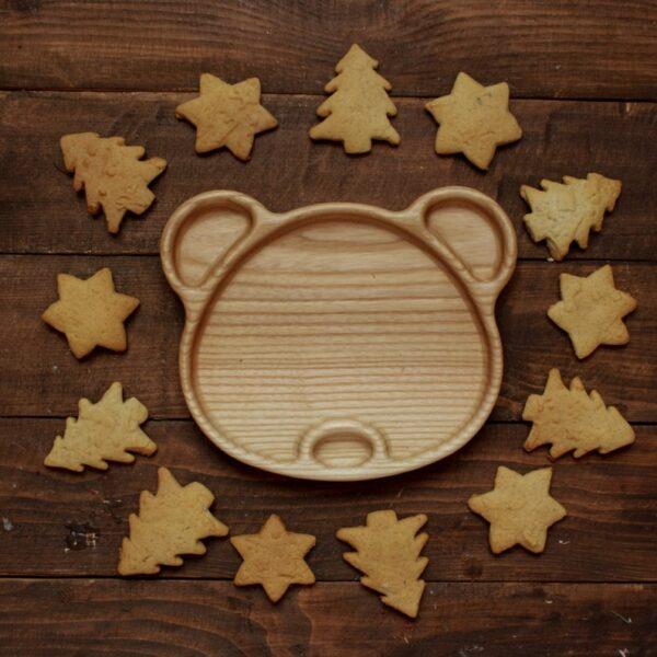 Panda tray image for babies food 3
