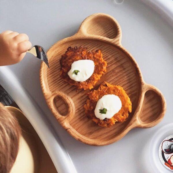 Panda tray image for babies food 5