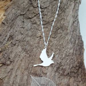 Peace Pigeon Sterling silver locket