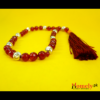 Red-Jade-With-Silver-Beads-image-3