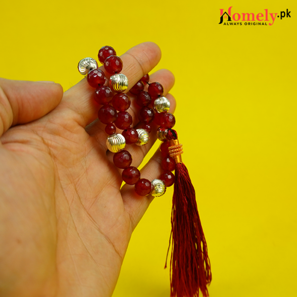 Red-Jade-With-Silver-Beads-image-6