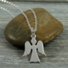angle locket sterling silver