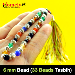 6 mm Bead Size ( Total Beads: 33 )