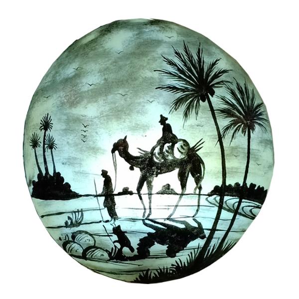 Camel-Skin-Lamp
