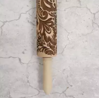 Patterned-Engraved-Rolling-Pin