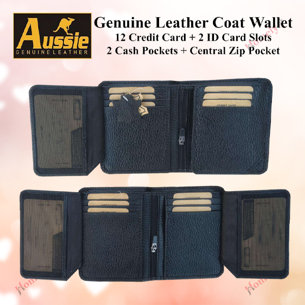 Multifunctional Leather Wallets For men